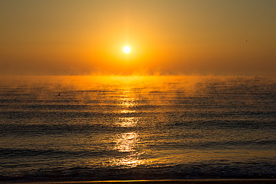 Sunrise in Bulgarian Black Sea - p1501m2072835 by Alexander Sommer