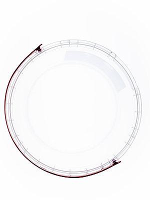 Transparent plastic bucket - p401m2260125 by Frank Baquet