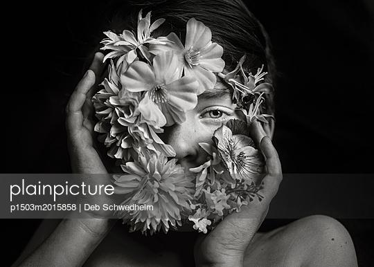 Flower Boy - p1503m2015858 by Deb Schwedhelm