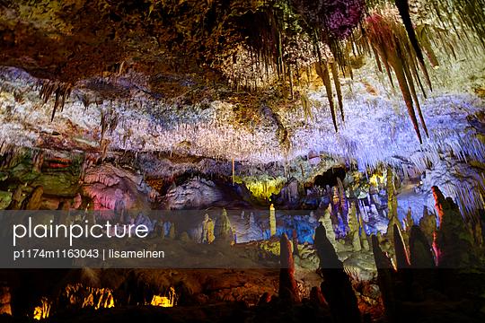 Tropfsteinhöhle, Cuevas dels Hams - p1174m1163043 von lisameinen