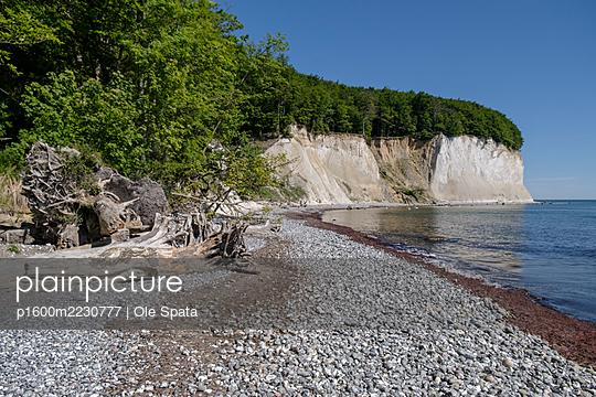 Kreidefelsen an der Ostsee Steilküste auf Rügen - p1600m2230777 von Ole Spata