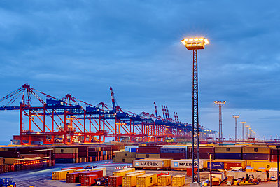 Containerterminal Bremerhaven - p1099m1515541 von Sabine Vielmo
