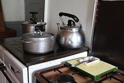 Bauernküche - p1058m817125 von Fanny Legros