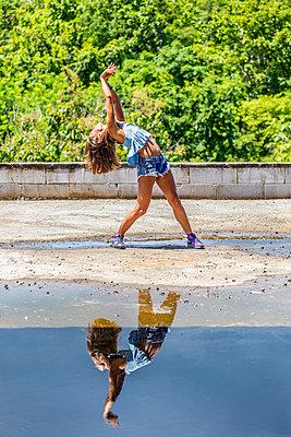 Dancing woman - p1108m1118784 by trubavin