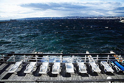 Deck chairs - p8870012 by Christian Kuhn