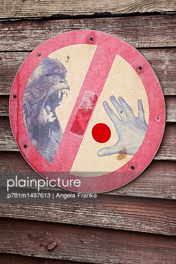Warnung - p781m1497613 von Angela Franke