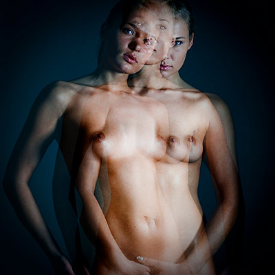 Woman with three faces - p4130723 by Tuomas Marttila