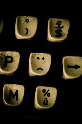 Typewriter - p4450302 by Marie Docher