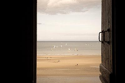 Der Strand von Tournemine - p873m2115312 von Philip Provily