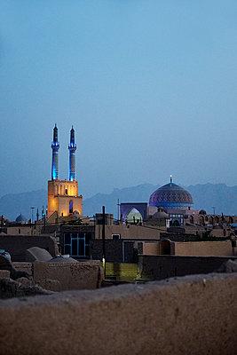 Auf den Dächern von Yazd - p1146m1445189 von Stephanie Uhlenbrock