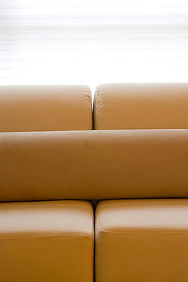 Detail of Contemporary Sofa and Pillow - p5550288f by LOOK Photography