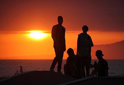 Sonnenuntergang; Kalifornien - p865m852346 von atomara