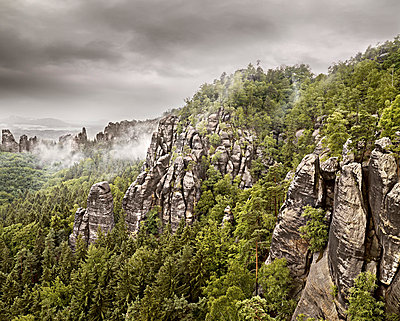 Elbe Sandstone Mountains - p9180090 by Dirk Fellenberg