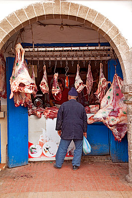 Meat shopping - p382m1194972 by Anna Matzen