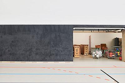 Sporthalle - p1119m2291732 von O. Mahlstedt