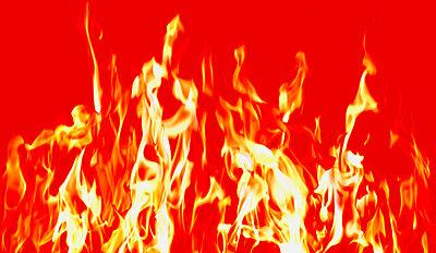 A fire - p4420414f by Design Pics