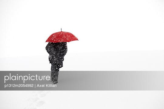 Schneesturm - p1312m2054992 von Axel Killian