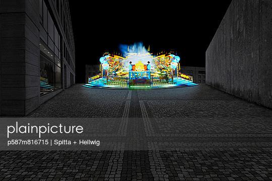 Merry-go-round - p587m816715 by Spitta + Hellwig