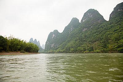 China, guangxi province, li river - p9244886f by Image Source