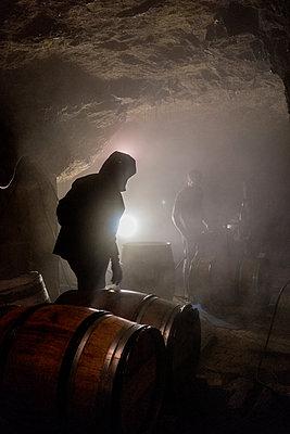 Barrels - p1402m2044608 by Jerome Paressant