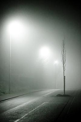 Straße im Nebel - p979m1513292 von Martin Kosa