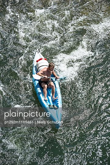Wassersport auf der Ardèche - p1292m1169461 von Niels Schubert