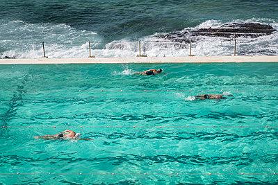 Swimming pool on the waterfront - p1170m1444732 by Bjanka Kadic