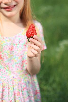 Strawberry - p045m1044163 by Jasmin Sander