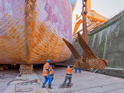 Ship repair and maintenance works - p390m2063885 by Frank Herfort