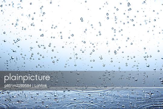 Carbonic acid bubbles, macro - p851m2289584 by Lohfink