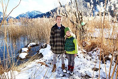 Bruder und Schwester - p1146m1128930 von Stephanie Uhlenbrock