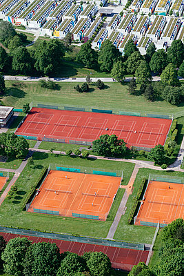 Tennis court - p728m1026517 by Peter Nitsch