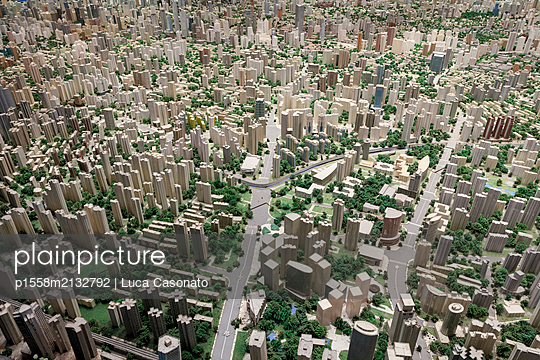 Shanghai Urban Planning Exhibition Center - p1558m2132792 by Luca Casonato