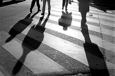 Pedestrian crossing - p870m753813 by Gilles Rigoulet