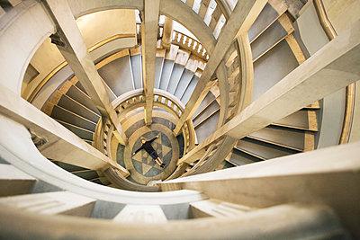 Im Treppenauge - p1222m1154571 von Jérome Gerull