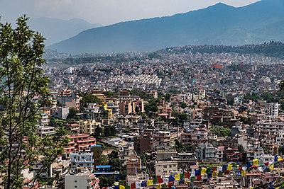 Blick über Kathmandu - p1243m1525629 von Archer