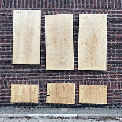 Boarded up - p1401m2056923 by Jens Goldbeck
