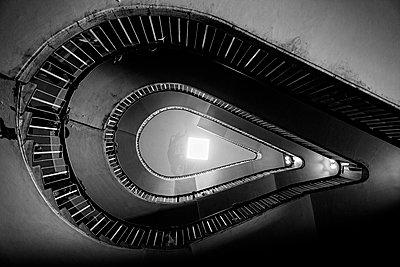 Stairwell - p1445m1586055 by Eugenia Kyriakopoulou