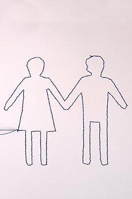 Couple - p451m2260383 by Anja Weber-Decker
