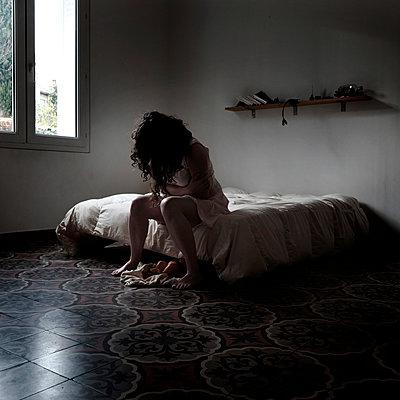 Desperation - p1105m2054033 by Virginie Plauchut