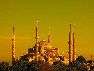 Blaue Moschee - p1189m1017068 von Adnan Arnaout