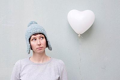 Luftballon in Herzform - p4540531 von Lubitz + Dorner
