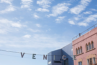 Venice, California sign - p495m903933 by Jeanene Scott