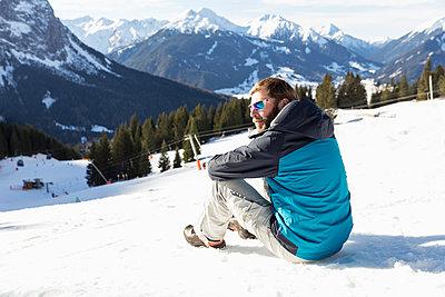 Winterurlaub - p788m1110626 von Lisa Krechting