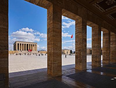 Turkey, Ankara, Anitkabir, Mausoleum of Mustafa Kemal Atatürk - p390m2254449 by Frank Herfort