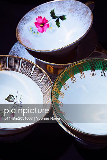 Nostalgic cups - p1149m2031037 by Yvonne Röder