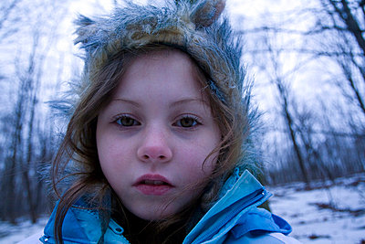Portrait of a little girl - p5830089 by Kristina Williamson