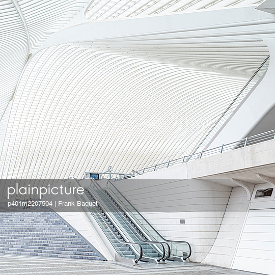 Liège-Guillemins station in Liège - p401m2207504 by Frank Baquet