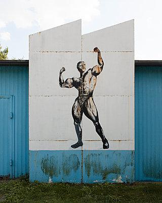 strong man - p1214m1531778 by Janusz Beck