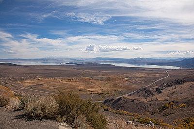 Salzsee in Kalifornien - p712m1466317 von Jana Kay
